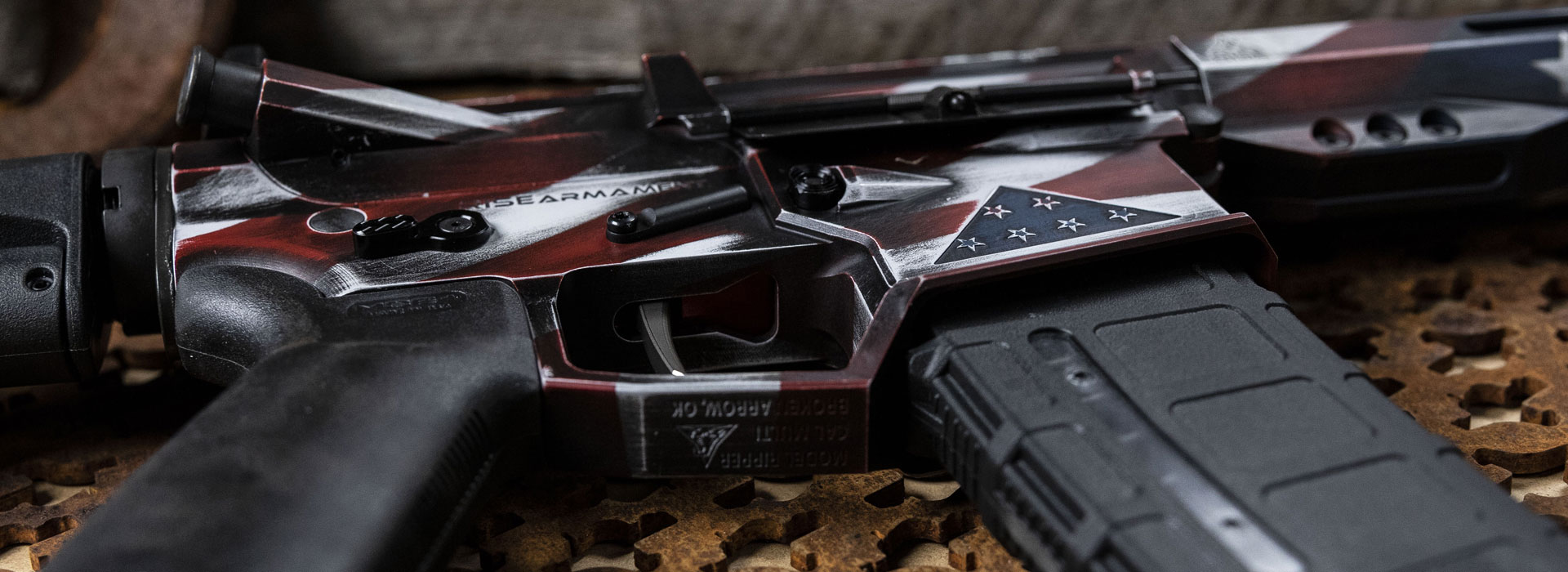 The Legacy Rifle — Benefiting Folds of Honor
